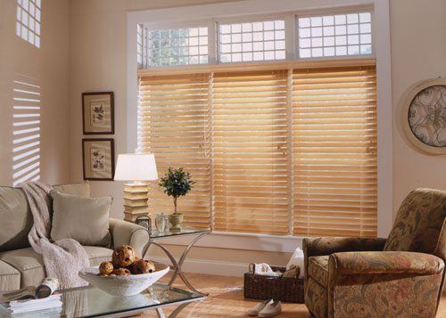 Home Wooden Window Blinds