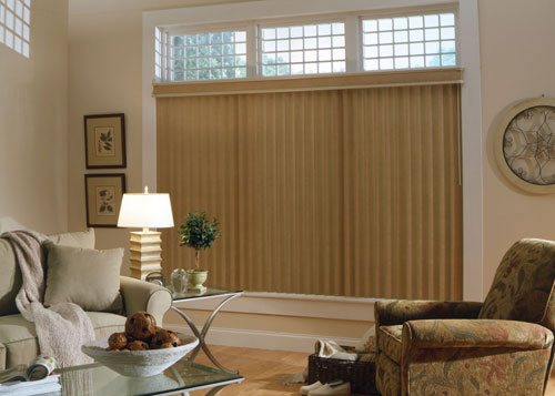 Custom Window Vertical Blinds