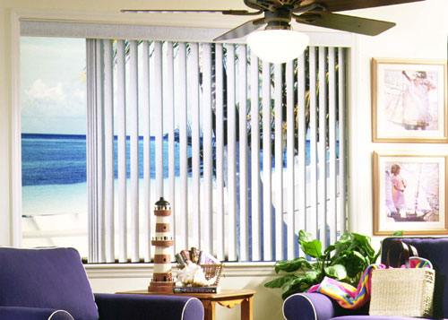 OC Sliding Window Blinds