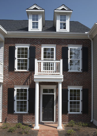 Composite Exterior Window Shutters Sales Installation Los