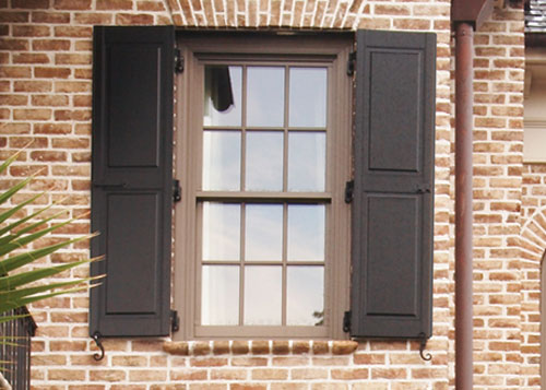 Composite Exterior Window Shutters Sales Installation Los Angeles And Orange County Ca
