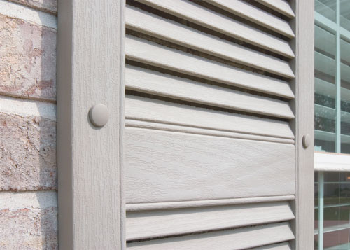 the best value for vinyl exterior window shutters sales installation