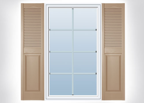 Plastic Outdoor Shutters