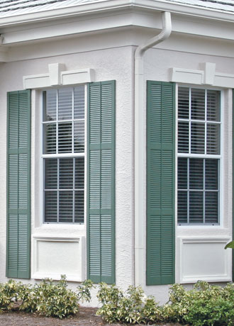 Vinyl Exterior Shutters Contractor Los Angeles & Orange County CA ...