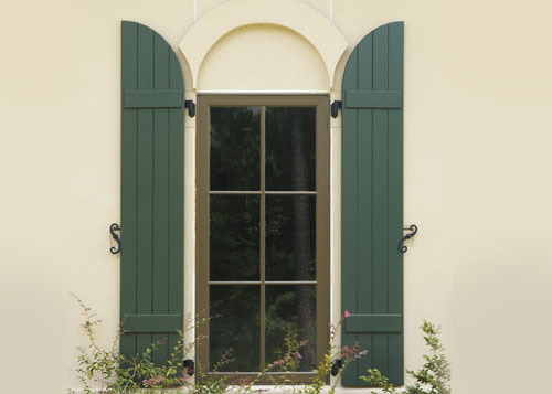 Arched Window Shutter