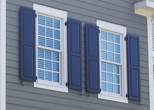 Wood Exterior Window Shutters Pine Basswood Cedar Orange County And Los Angeles Ca
