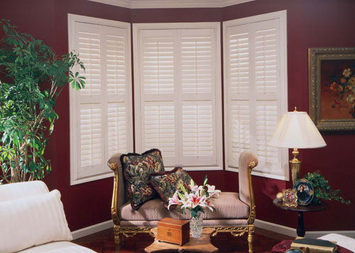 Home Interior Bay Shutters
