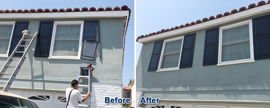 Newport Beach Residential Shutter Repair
