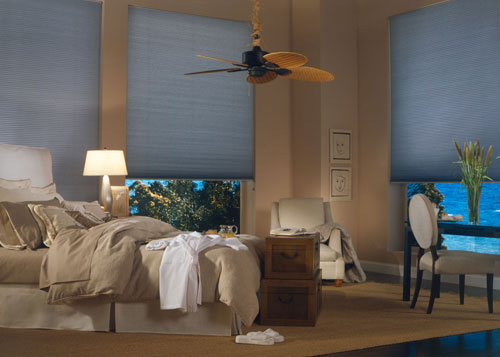 Beautiful Bedroom Blind Shades