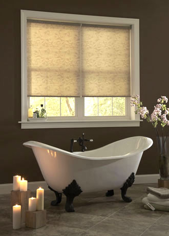 Graber Roller Bathroom Shades