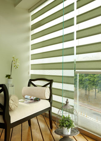 Faux Wood Window Shades