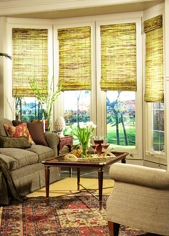 Woven Grass Window Shades