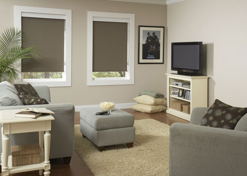 House Windows Roller Shades