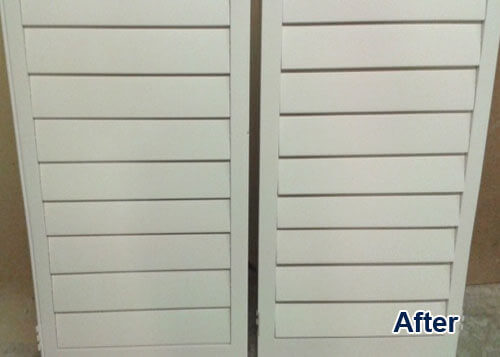 Shutter Refinishing Los Angeles