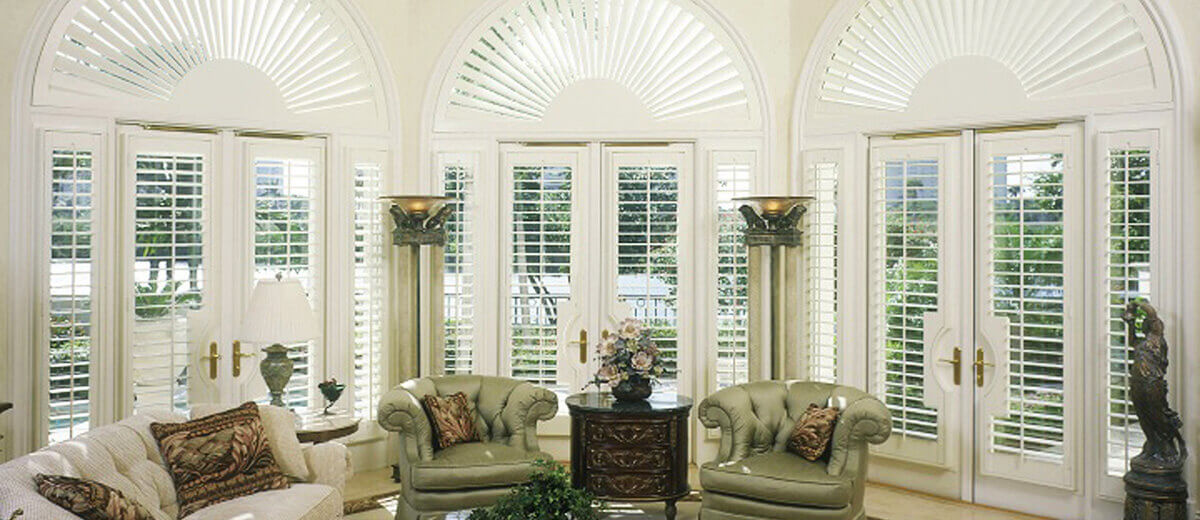 Affordable Living Rooms Shutters
