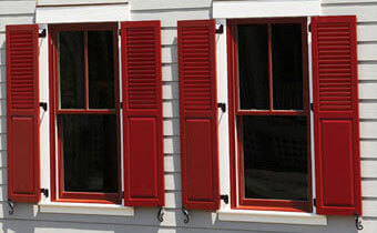 Composite Exterior Window Shutters Sales & Installation | Los ...